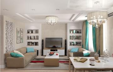 Дизайн квартиры на ул. Широтная