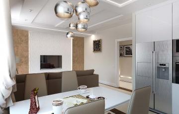 Дизайн квартиры на ул. Ростовцева