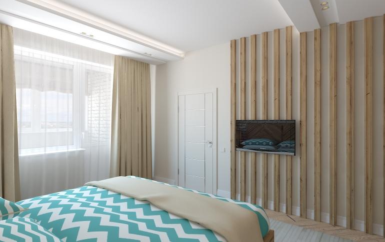 Брутальная спальня для холостяка