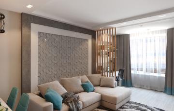 Дизайн однокомнатной квартиры ЖК Олимпия
