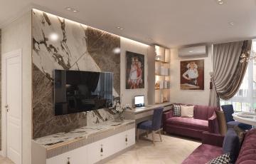 Дизайн интерьера квартиры ул. Газовиков