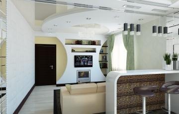 Дизайн квартиры Дом Обороны