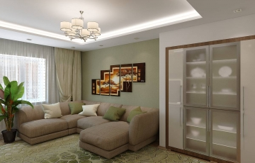 Дизайн двухкомнатной квартиры Тюмень