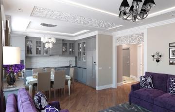 Дизайн квартиры г.Тюмень