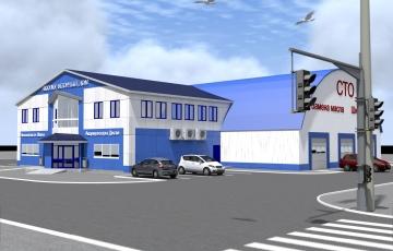 Проект комплекса станции технического обслуживания автомобилей